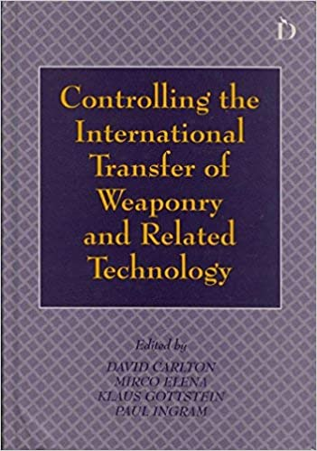 Cover Book - Controlling the international transfer...