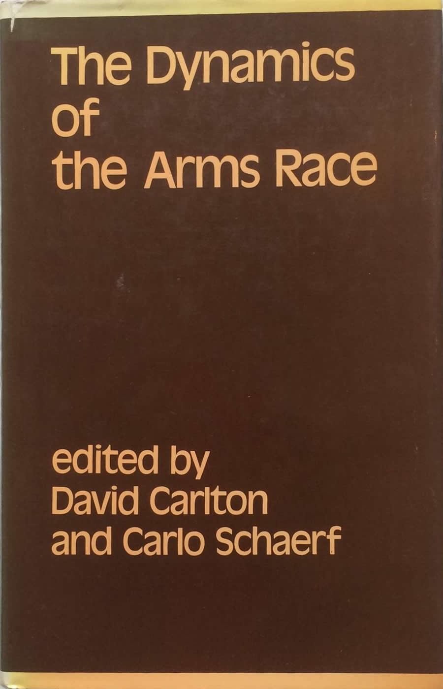 Book Cover - The Dynamics of the Arms Race